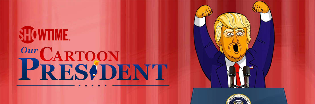 A First Look at Our Cartoon President, Exclusively on FOX+