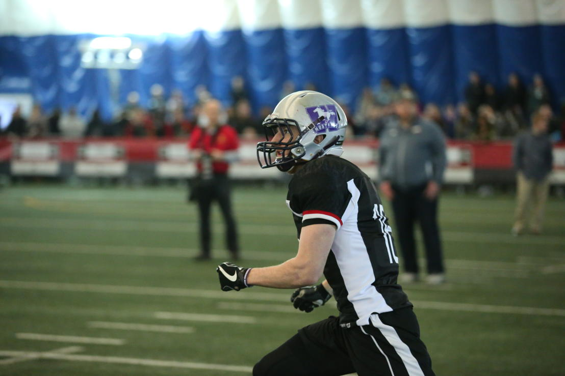 Harry McMaster at the Ontario Regional Combine presented by adidas. Photo credit: Alex D'Addese/CFL.ca