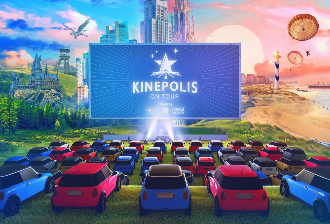'Kinepolis On Tour' zorgt deze zomer voor een buitengewone drive-in filmbeleving