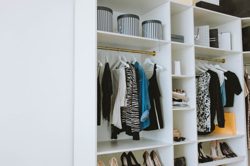 Shpock partner with leading interiors therapist to share wardrobe spring clean hacks