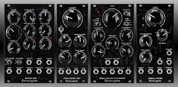Preview: Erica Synths Discontinues DIY Series Modules in Favor of Creating Educational Kits
