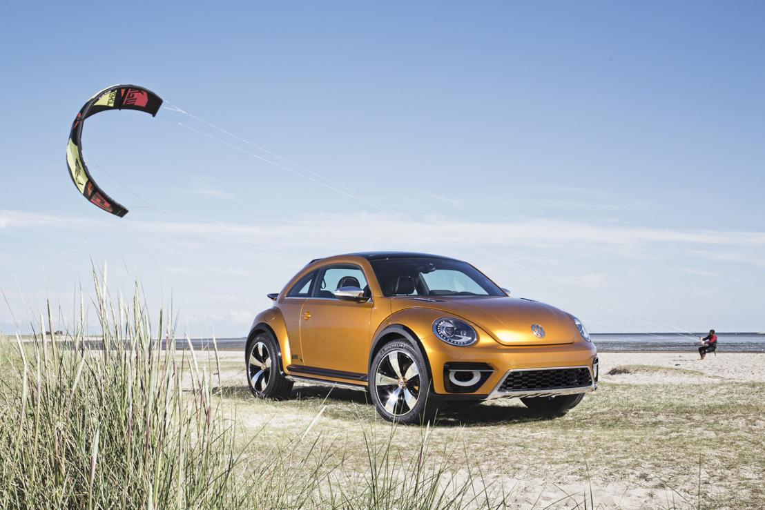 Wereldpremière in Detroit: Volkswagen presenteert de Beetle Dune met offroadlook