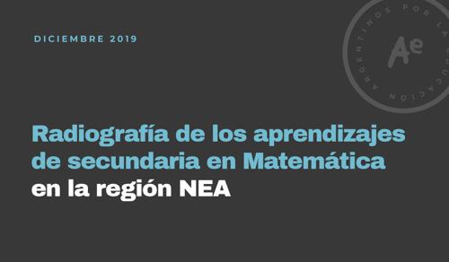 Corrientes y Misiones son las provincias del NEA con mejores resultados en Matemática