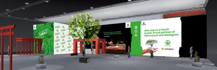 Suzuki au Salon de Bruxelles 2020