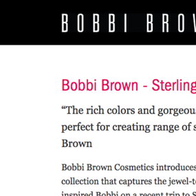 Bobbi Brown - Sterling Nights