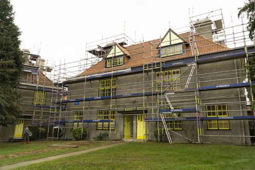Renovatie van beschermde tuinwijk