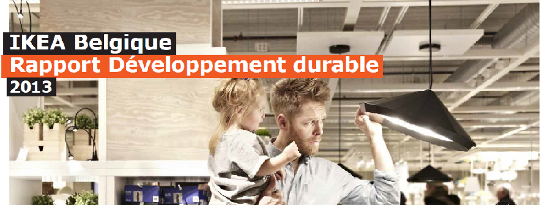 IKEA Belgique publie son Rapport de Développement durable 2013