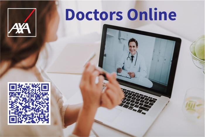 Videochatten met een dokter in de strijd tegen het coronavirus