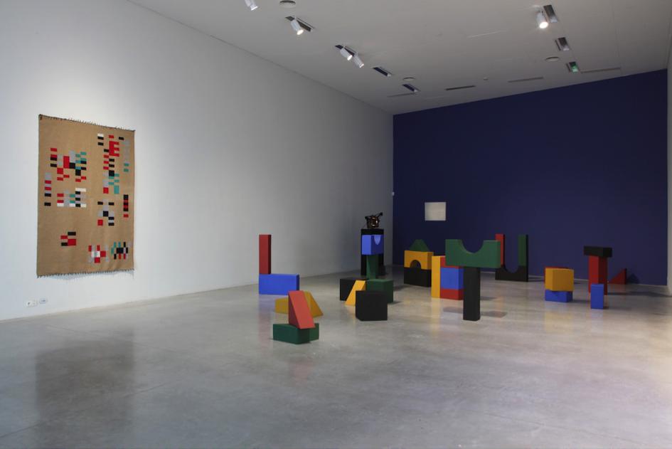 Yto Barrada. Lyautey Unit Blocks, 2010. Courtesy the artist and Sfeir-Semler Gallery, Hamburg/Beirut. Photo (c) Dirk Pauwels