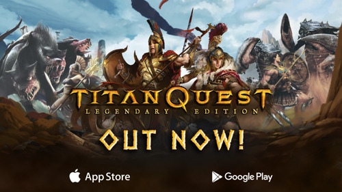 Heed the call! Titan Quest: Legendary Edition out now!