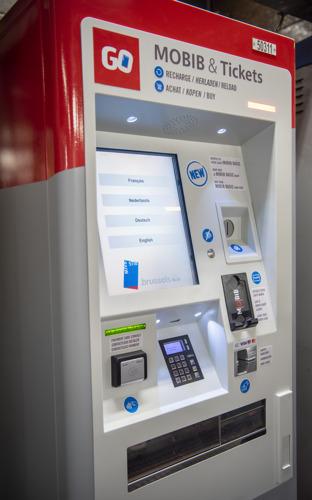 Les nouveaux automates de vente STIB délivreront des cartes MOBIB Basic