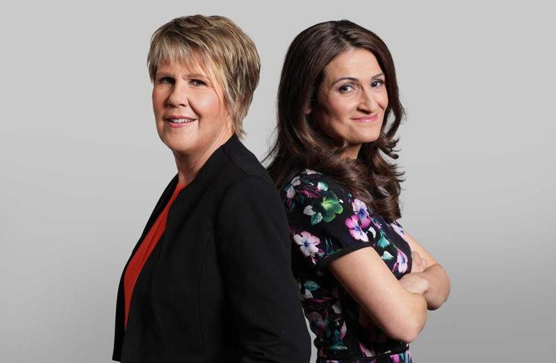 Fran Kelly & Patricia Karvelas