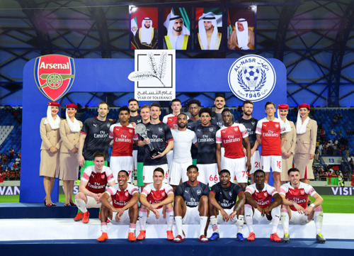Arsenal concludes Dubai visit on a high