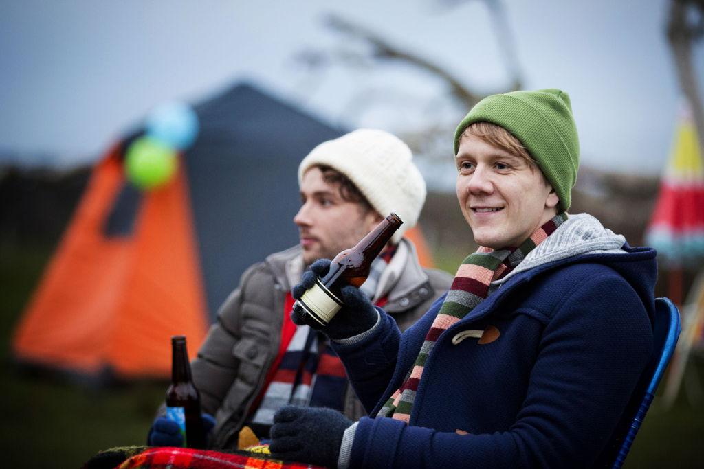 Josh Thomas (front of pic) and Keegan Joyce (Arnold)