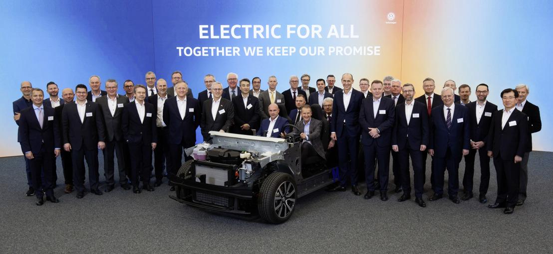 Volkswagen y sus proveedores comienzan la cuenta regresiva para el ID.