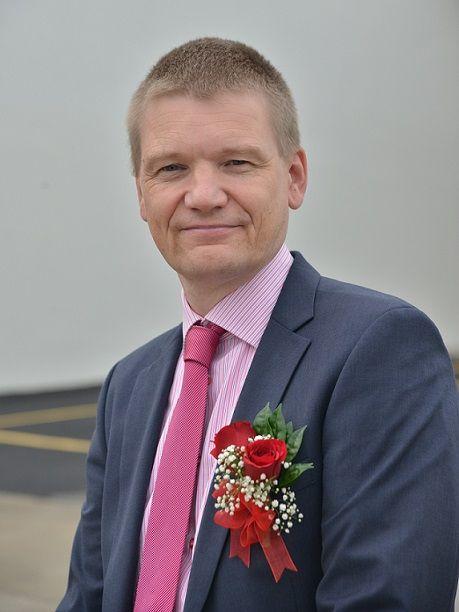 Karl Tilkorn, Regional Managing Director, MHE Demag