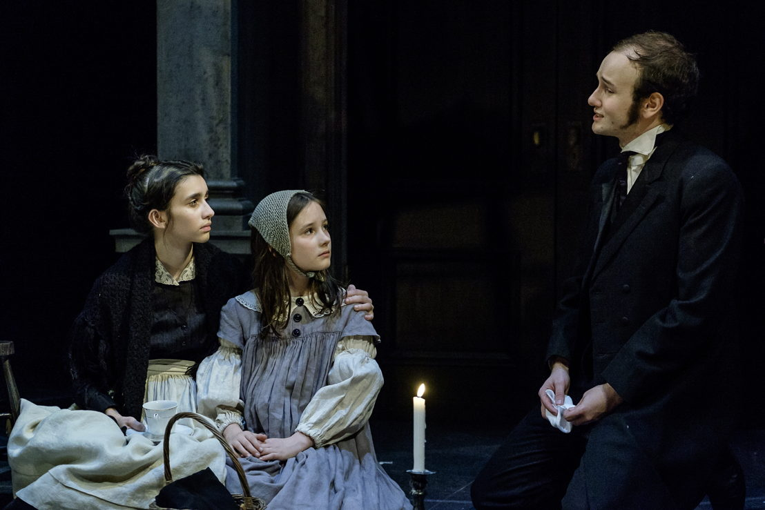 Lauren Alberico, Abby Baker and Anton Lipovetsky in A Christmas Carol / Photos by Don Craig