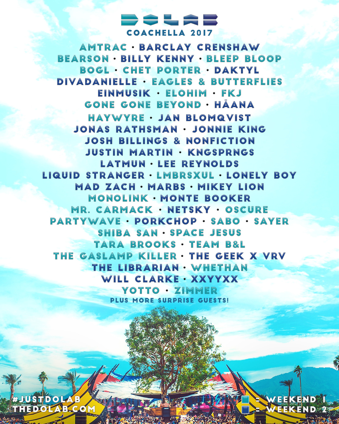 Do LaB Unveils Musical Lineup for Stage at Coachella Valley Music and Arts Festival