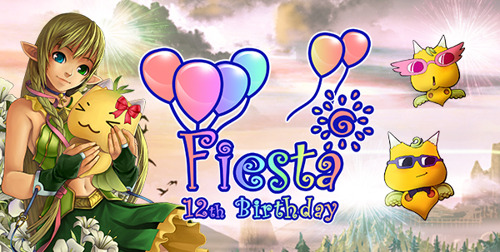 Fiesta Online Celebrates its 12th Birthday with an Epic Cupcake War!