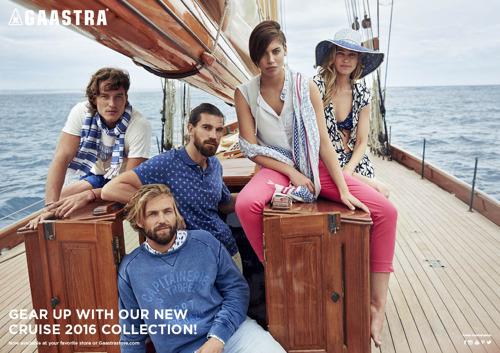 Gaastra Cruise collectie 2016 voor haar