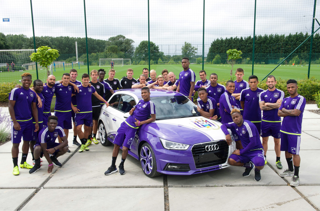 Audi en RSC Anderlecht kondigen partnership aan
