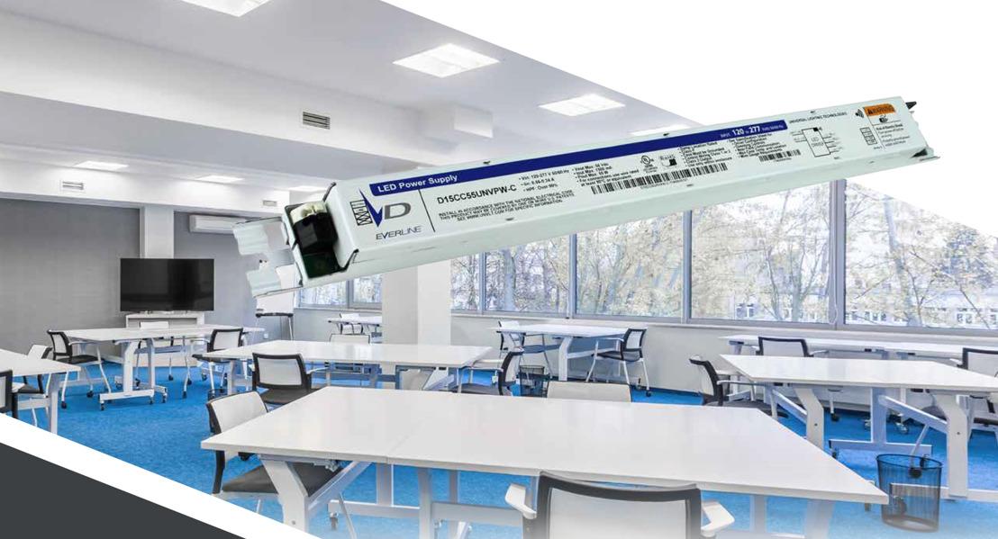 Universal Lighting Technologies (ULT) presenta nuevos controladores de iluminación LED con programación inalámbrica