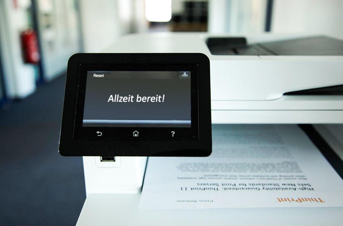 ThinPrint 11 sorgt für Hochverfügbarkeit beim Drucken