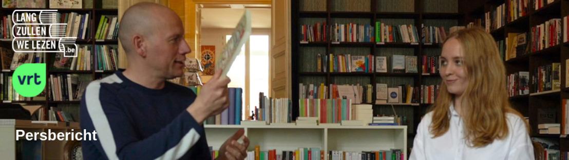 Sven Speybrouck start online videoreeks over boeken