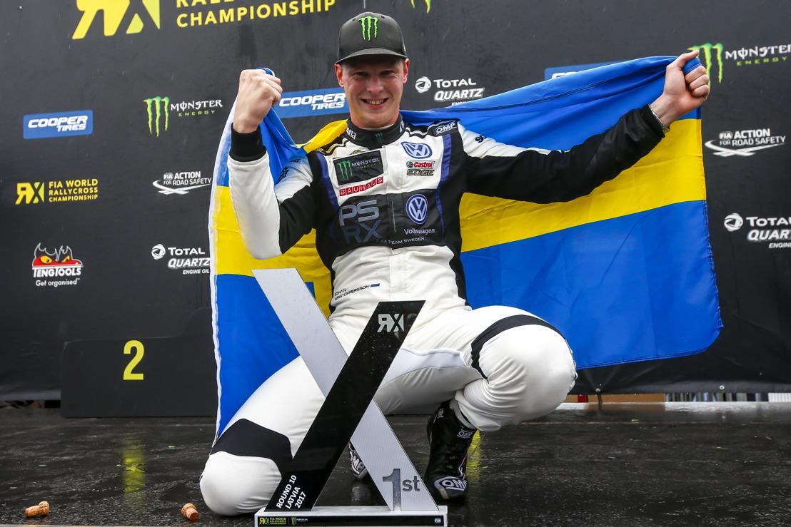 Johan Kristoffersson wins Drivers' Championship, PSRX picks up the Team title