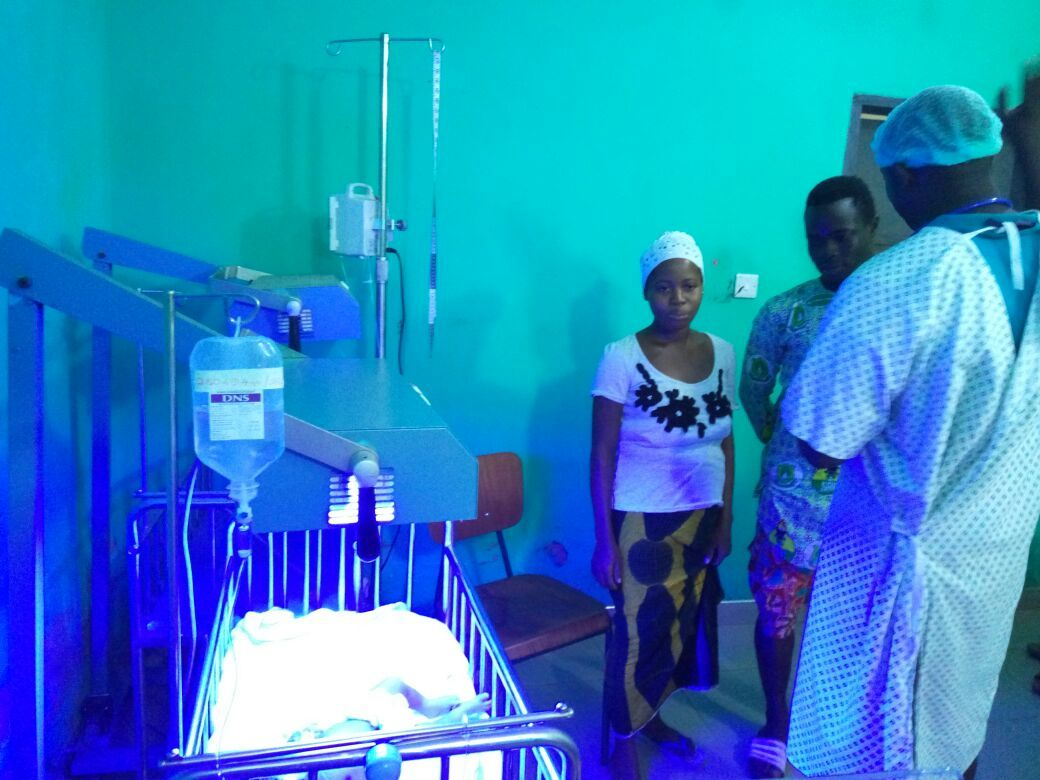 Fountain Care Hospital previously had virtually no equipment to care for sick or premature infants at the hospital. Changing Lives Together raised money to purchase an isolette for the hospital which now has the equipment to save lives and serve their district in rural Ghana.