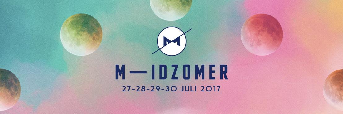 M-IDZOMER lanceert volledige muzikale line-up!