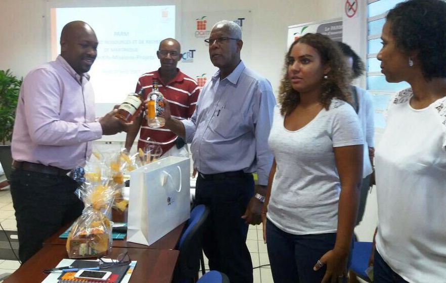 Rencontre avec les professionnels du secteur agroalimentaire en Martinique.