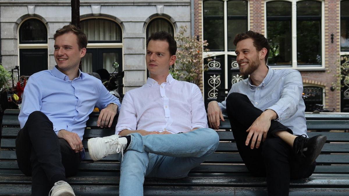 Berten Knaepen, Dries Deprest & Milan Klaasman van MyGamePlan