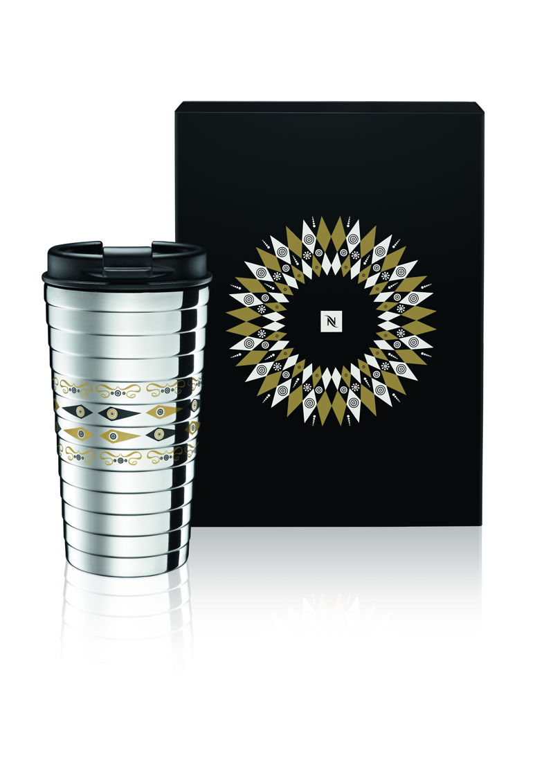 Festive Touch Travel Mug (Editions Limitées) - 22€.