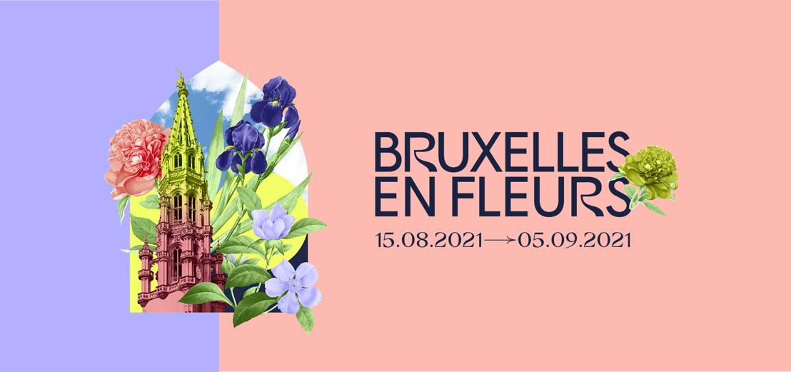 « Bruxelles en Fleurs » : un bouquet de couleurs et de senteurs dans le centre-ville