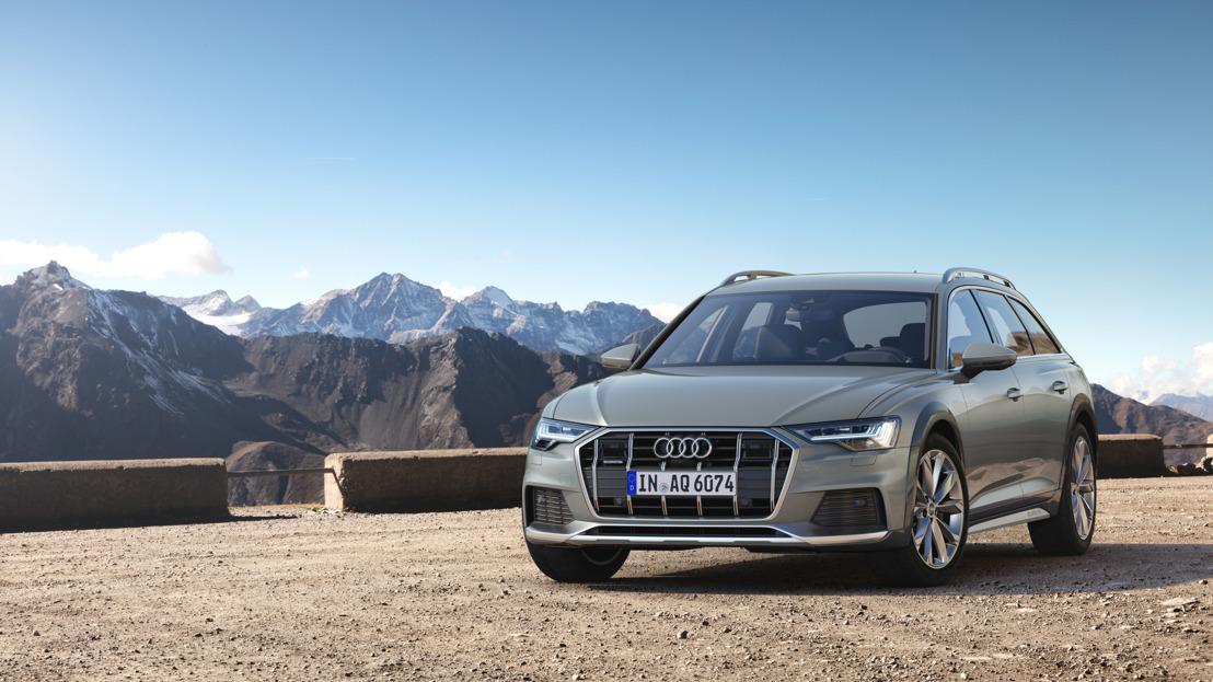 20 ans d'A6 Avant avec des aptitudes tout-terrain : la nouvelle Audi A6 allroad quattro
