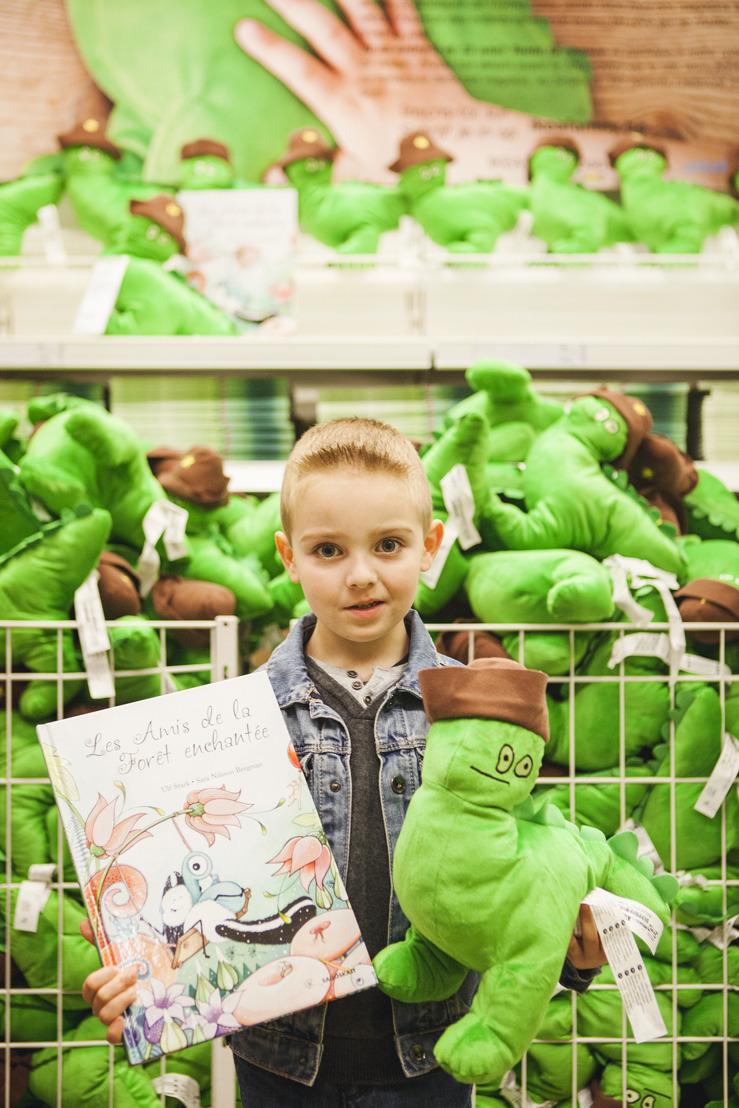 Belgische Thyméo (4) stelt eigen IKEA knuffel voor