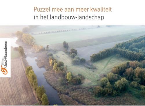 Nieuwe publicatie puzzelt aan meer kwaliteit in het Oost-Vlaamse landbouw-landschap