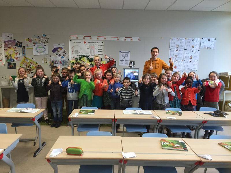 Iben en zijn klas - (c) VRT