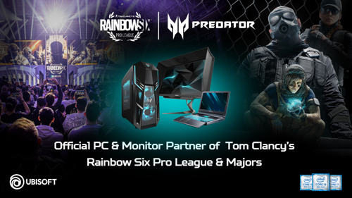 Ubisoft Kicks off a Revamped Tom Clancy's Rainbow Six Pro League Season X With All-New Acer Predator Sponsorship