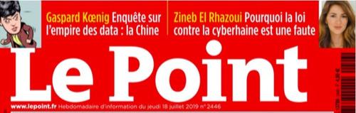 HiNounou est cité par philosophe et écrivain Gaspard Kœnig dans le magazine français Le Point