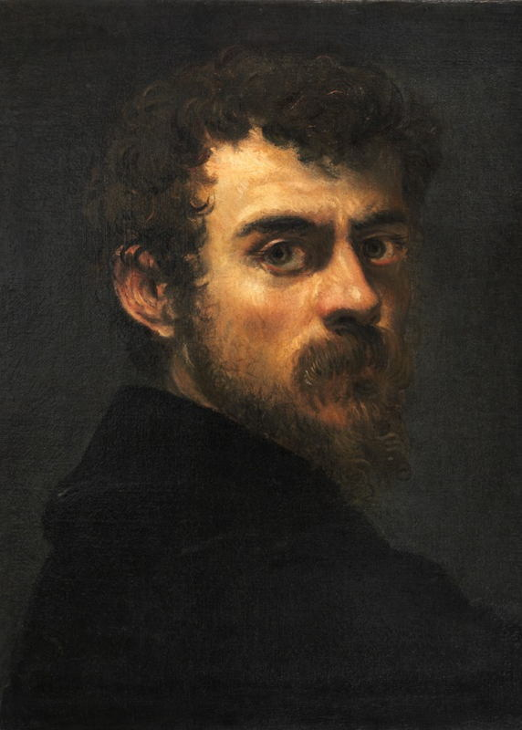 Selfportret, from the book David Bowie's Tintoretto.