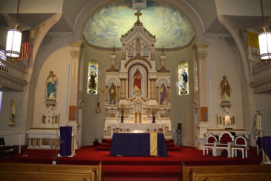 Iglesia St. Anthony en Davenport, Iowa