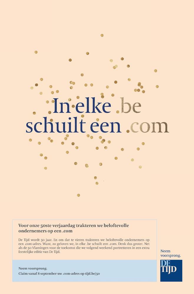 Preview: De Tijd en FamousGrey trakteren Vlaamse ondernemers op een .com
