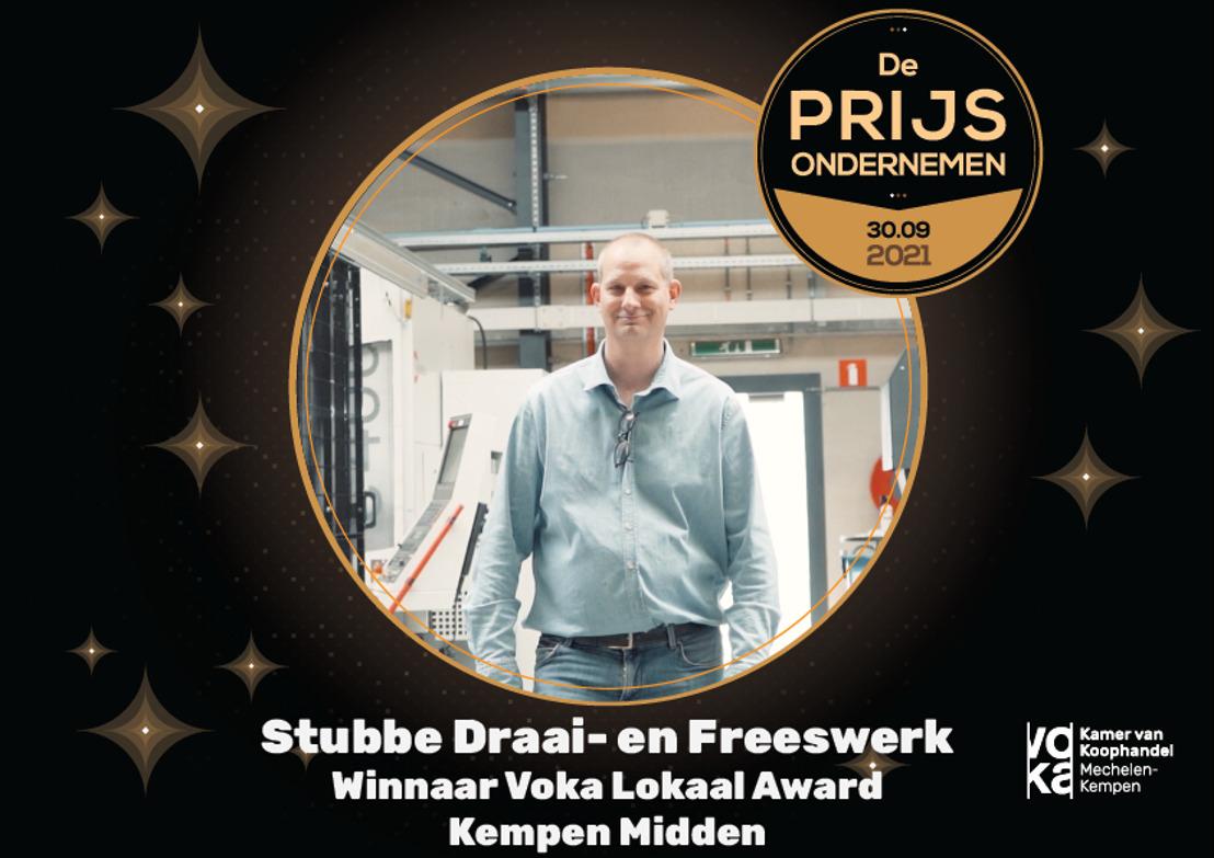 'Stubbe Draai- en Freeswerk' mikt op Voka Prijs Ondernemen 2021