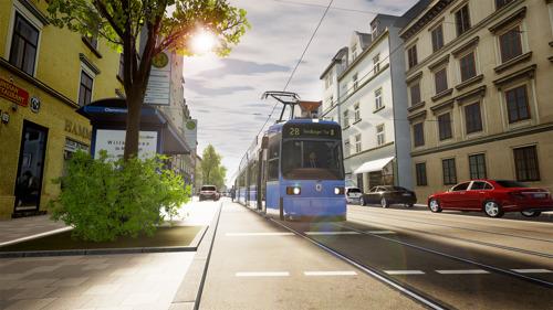 Aerosofts Line-Up zur gamescom 2021: TramSim München inszeniert bayerische Landeshauptstadt