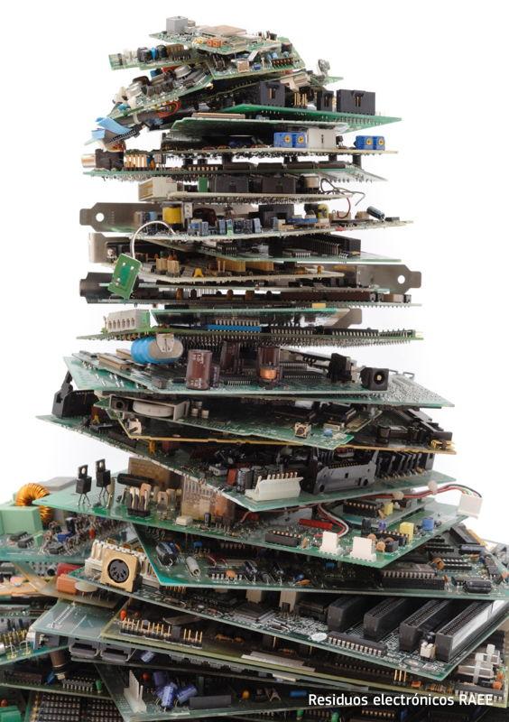Residuos electrónicos RAEE