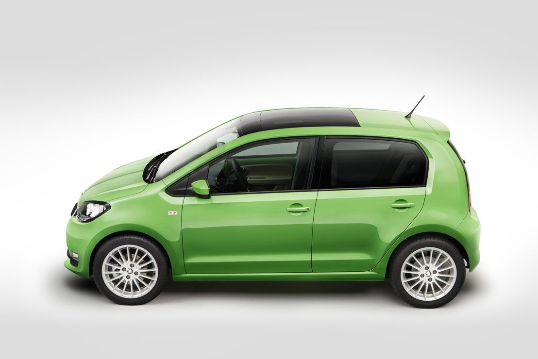 Three modern three-cylinder engines are available for the ŠKODA CITIGO – two petrol variants and one natural gas variant. The front-, transverse-mounted engines with a 1.0-litre capacity drive the front wheels.