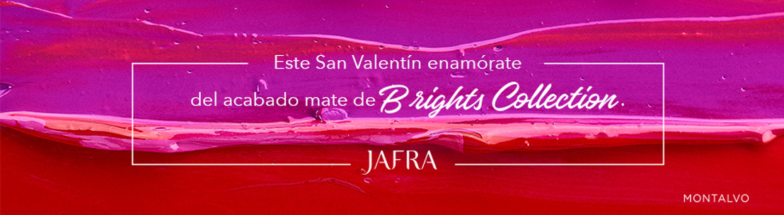 Este 14 de febrero, prepárate para que tus labios sean los protagonistas con Brights Collection