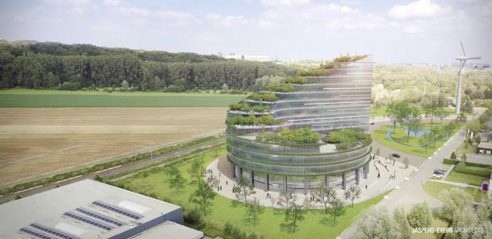 Green Energy Park tekent samen met VUB en UZ Brussel een overeenkomst met MeetDistrict voor de bouw van een innovatief hightech bedrijven- en onderzoekscentrum